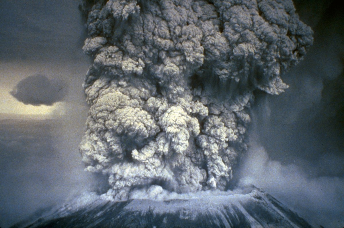Mt. St. Helens, WA, May 18, 1980. (NOAA News Photo)