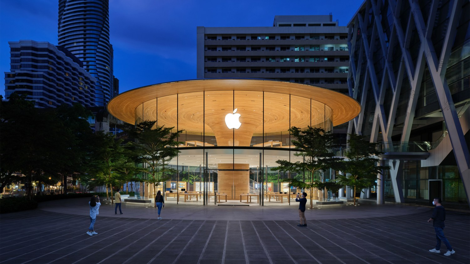 Apple's latest retail store in Bangkok