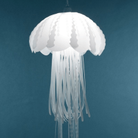 Elegant Jellyfish Lamps Light Up the Walls