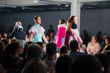 Stacie Clark, graduate collection, knitwear design 11