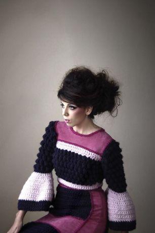 Stacie Clark, graduate collection, knitwear design 5