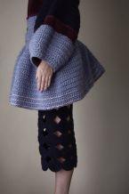 Stacie Clark, graduate collection, knitwear design 6