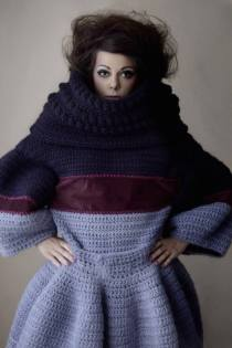 Stacie Clark, graduate collection, knitwear design 9