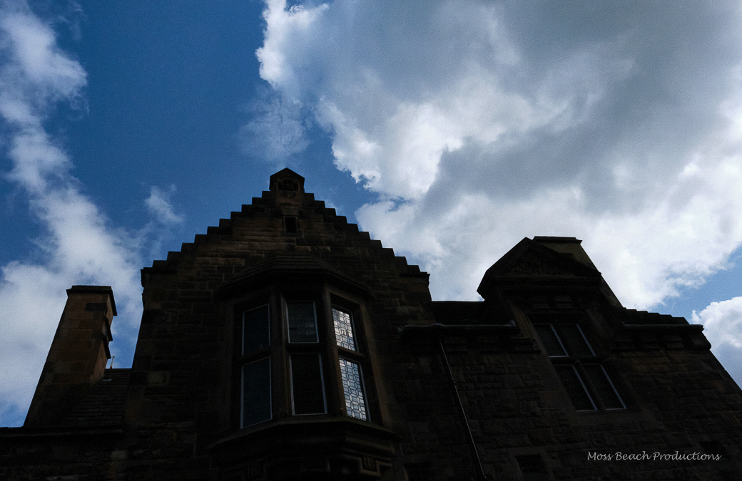 Majestic castle against an Edinburgh sky