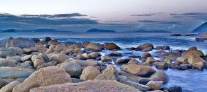 Rebecca Dixon albany beach scene