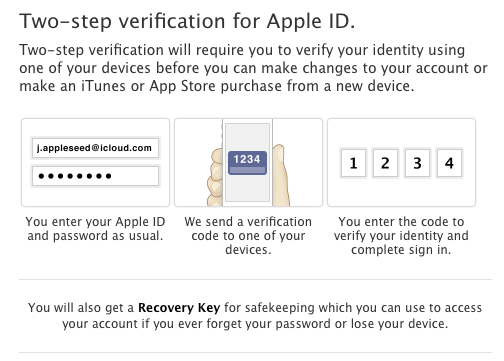 2 steps verification