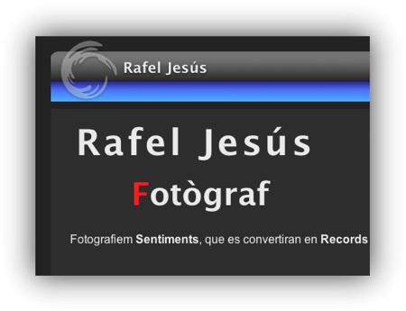 Rafel Jesus web professional de fotografia