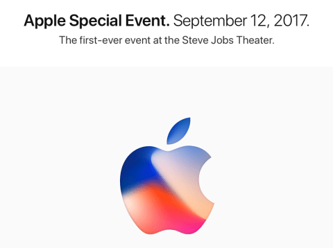 Apple Keynote 12/09/2017