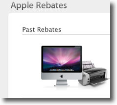 Apple Rebates