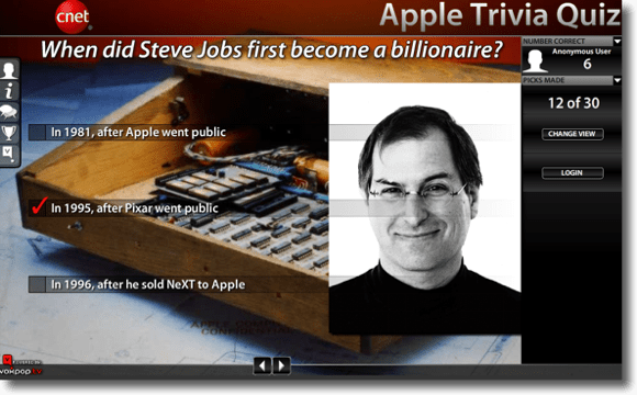 Apple Trivial