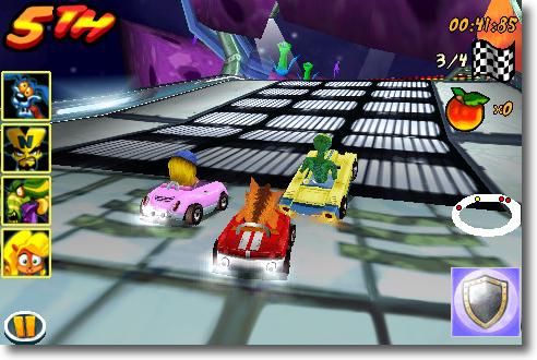Crash Bandicoot Nitro Car 3D
