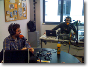 Nou estudi del podcast a Radio Art