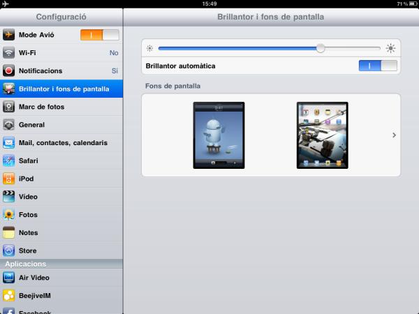 iOS 4.2.1 a l'iPad en català