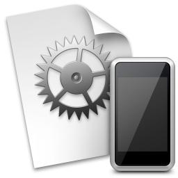 iphone configuration utility icon