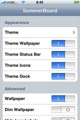 iphone summerboard