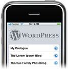 wp for iphone