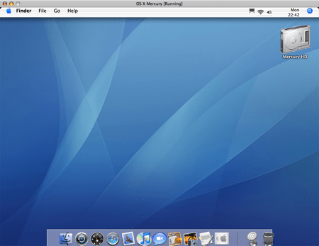 os X virtual mercury