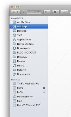 Nou Finder - Mac OS X Lion