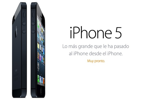 iPhone 5 d'Apple, la novetat de la keynote