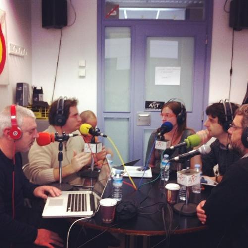 Estudi a tope al Podcast 101