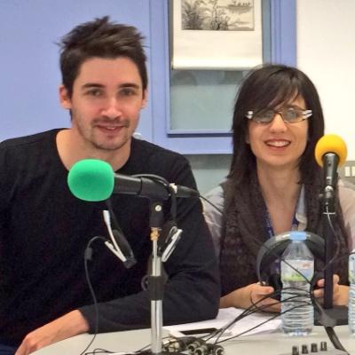 Quico Domingo i Sílvia Bonàs