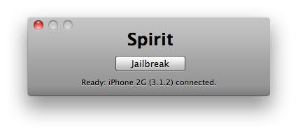Spirit en un iPhone 2G