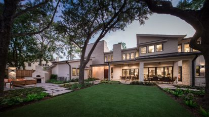 Hill Country Contemporary   Tanglewood, Houston