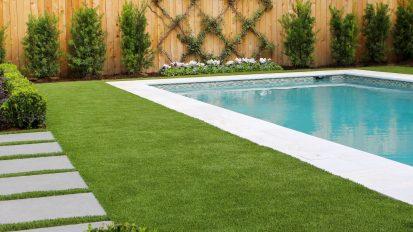 English Contemporary Backyard – Tanglewood, Houston