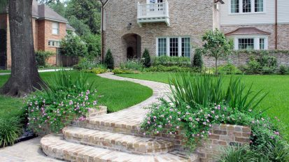 English Perennial Gardens    River Oaks, Houston