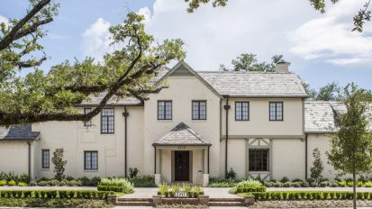 Historic Tudor Restoration    Old Braeswood, Houston