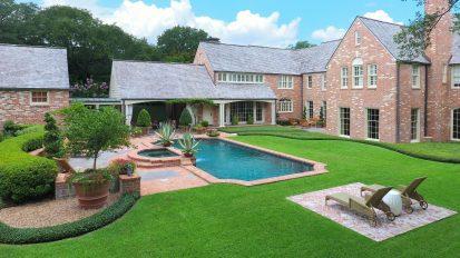 Backyard Oasis    River Oaks, Houston