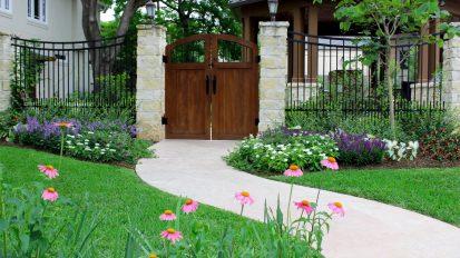 Sunset Terrace Backyard – West University Place, Houston