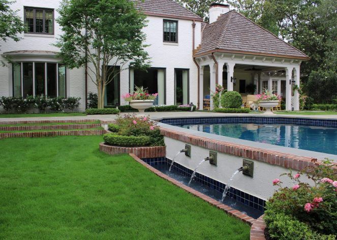 Inwood Gardens - Sunken Lawn View