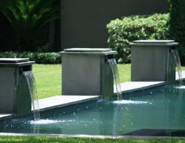 Longfellow Gardens - Pool Fountains