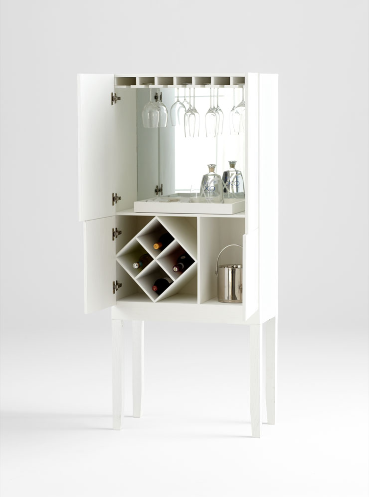 Hideout Bar Cabinet MOSS MANOR A Design House