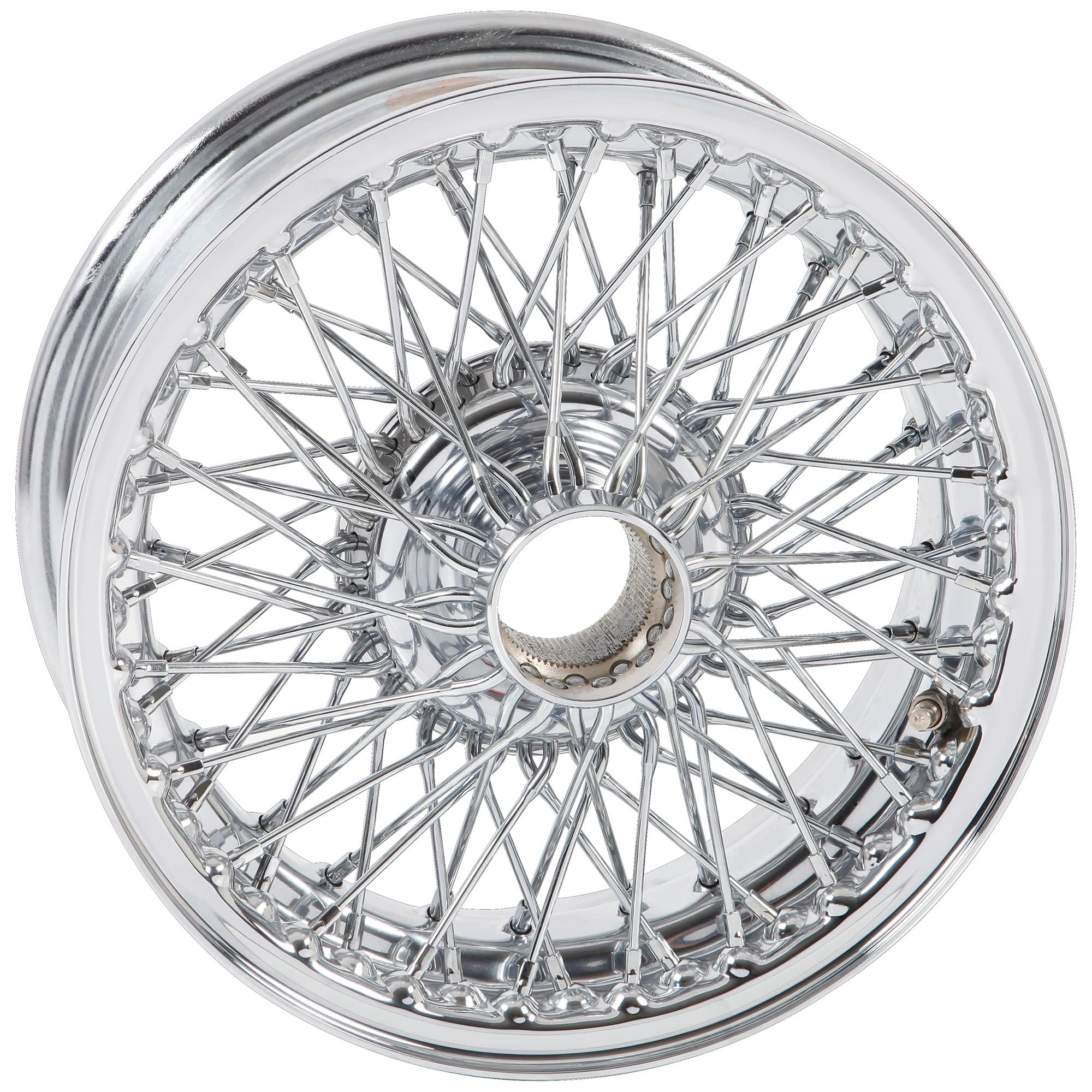 454 826 wire wheel chrome 14\