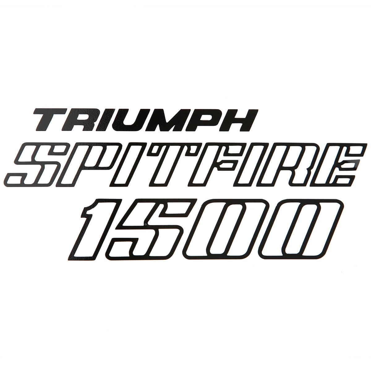 601 500 Trunk Lid Decal Spitfire