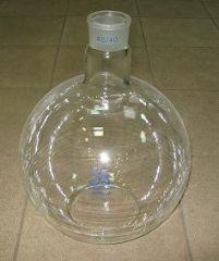 чаша из пламястойкого стекла
