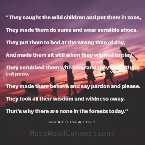Wild Child: Let the children play!