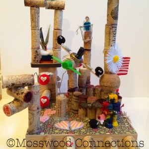 Art Activities made with recycled objects