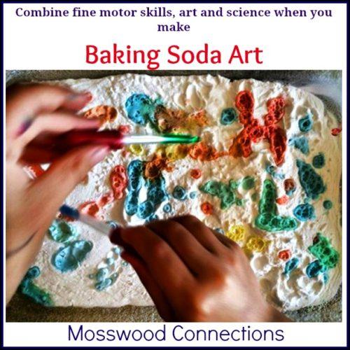 Baking Soda Art or Science