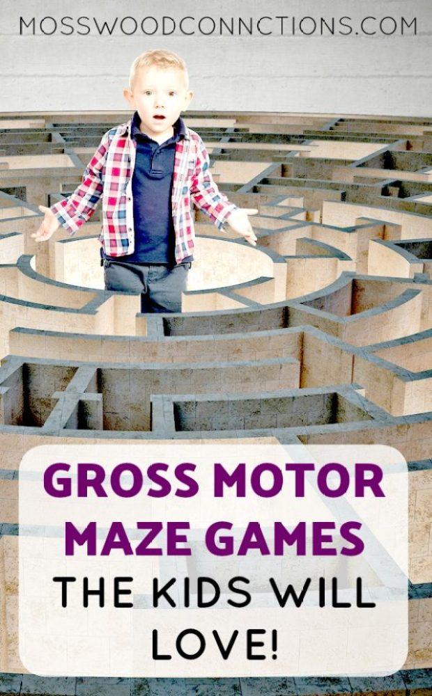 Gross Motor Maze Games