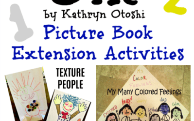 One by Kathryn Otoshi – Picture Book Month Extension Activities