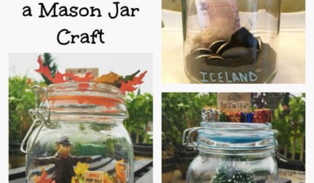 Memory Capsules Mason Jar DIY Decor Craft