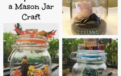 Memory Capsules Mason Jar DIY Decor Craft