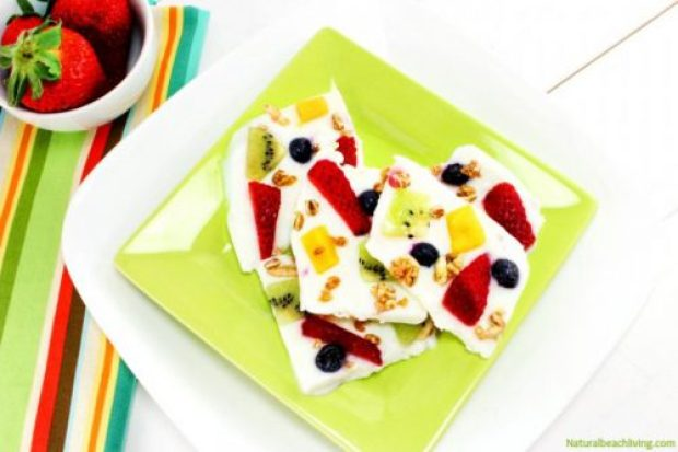Frozen Yogurt Bark Recipe