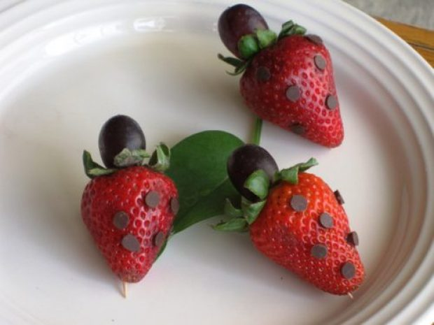 Edible Ladybugs Fun and Healthy Snack for Kids