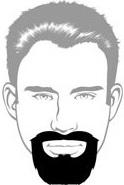 Beard Types - Circle Beard - Mossy Beard