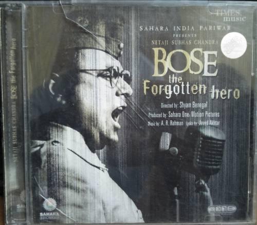 Bose the forgotten Hero Hindi Audio CD By A.R. Rahman www.mossymart.com
