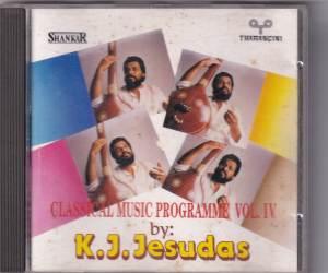 Classical Music Programme Vol. IV by KJ Yesudas www.mossymart.com